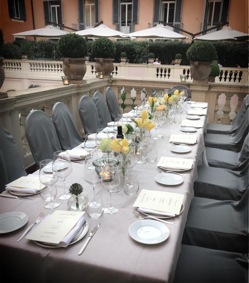 Organizzazione Staff Meeting Dinner Roma 2017 LineaCongress.com